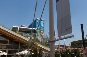Monaco - zusammengebaut aus Schiffscontainern